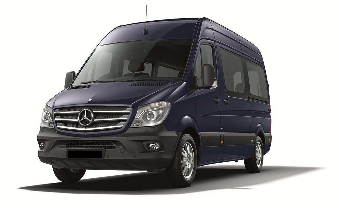 Minibus rental service with Driver private transfers in Venice